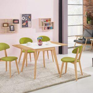 【北歐風-曼蒂】2.7尺折桌椅